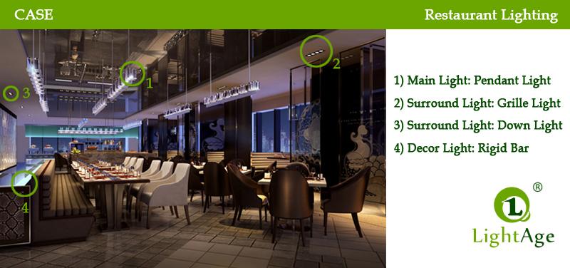 restaurant lighting design and cost saving lightage tech