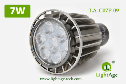 LA-C07P-09 7W LED lamp cup LED Spot light