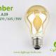 A60-A19 led filament bulb Amber2 2W,4W,6W,8W