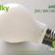 A60-A19 led filament bulb Milky4 2W,4W,6W,8W
