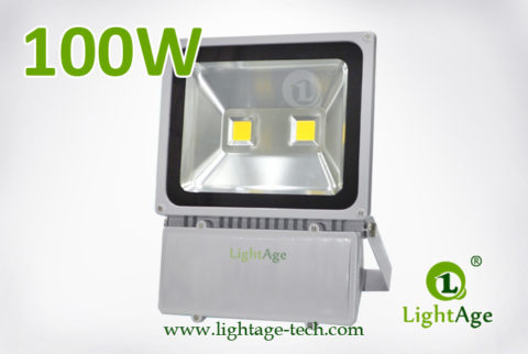 100W COB LED Flood Light Stand Type LA-FL04 02