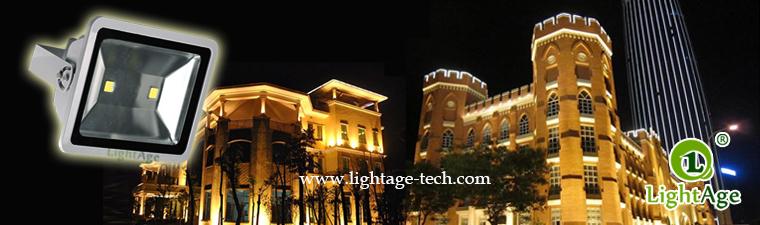 COB LED Flood Light LA-FL02 application 05