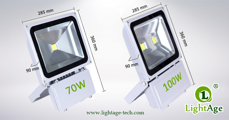 COB LED Flood Light Stand Type LA-FL04 Series