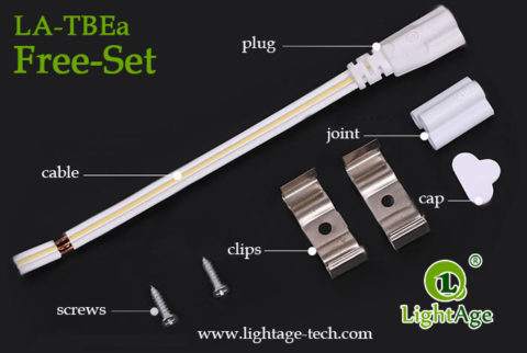 Integrated LED T8 Tube Light 04