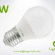 LA-B-Q48 3W White LED Bulb PC with AL