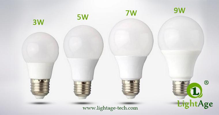 LA-B-Q48 White LED Bulb PC Series