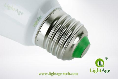 LA-B-Q48 White LED Bulb PC with AL Base
