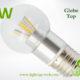 LA-B03-G05 3W LED Bulb Clear Globe2