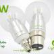 LA-B03-G05 3W LED Bulb Clear Globe6