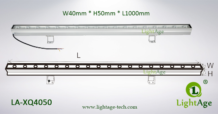 LED Wall Washer Dimension XQ4050