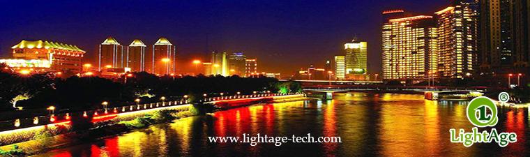 LED Wall Washer for bridge lighting
