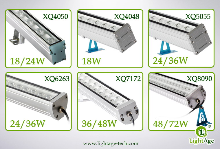 LightAge Standard LED Wall Washer Series