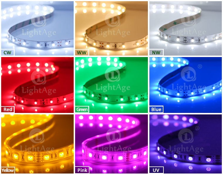 05 LightAge LED Strip Color Options