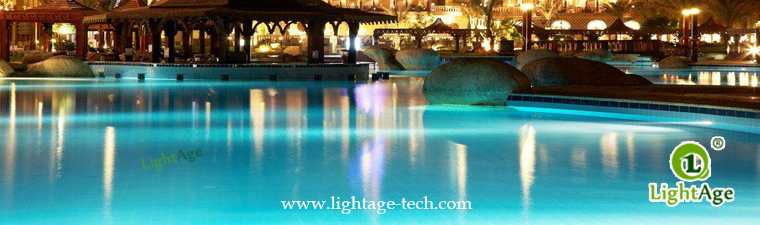 LA-PU08-6W,9W,12W LED Swimming Pool Light Application