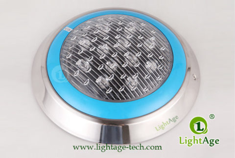 LA-PU08-6W,9W,12W LED Swimming Pool Light Frontside