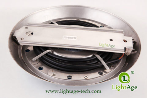 LA-PU08-6W,9W,12W Swimming Pool Light Backside