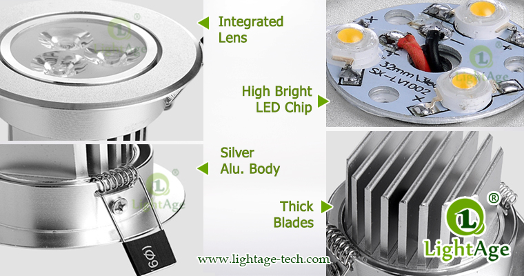 LED Ceiling Light Down Light LA-CL82 Details