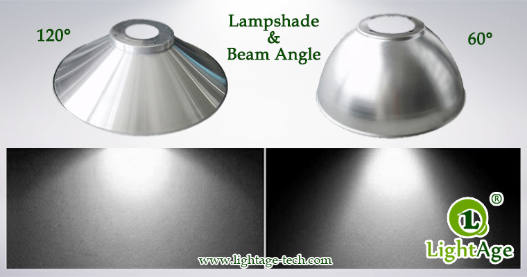 LED High Bay Light LightAge GK02 Lampshades