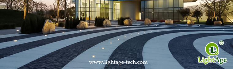 LED inground light project 01