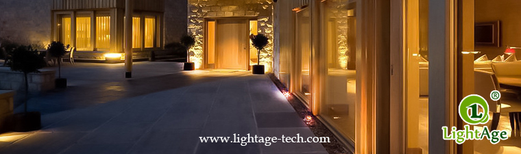 LED inground light project 15