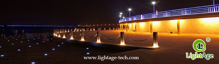 LED inground light project 18