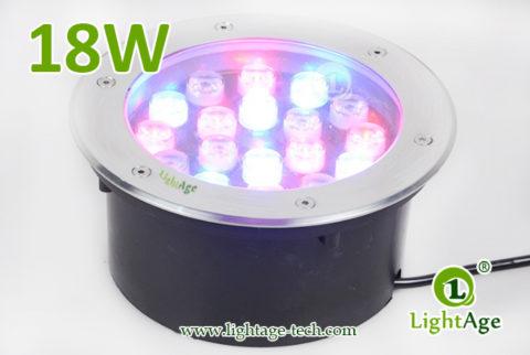LightAge LED Inground Light LA-MD01-18W 01