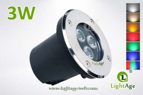 LightAge LED Inground Light LA-MD01-3W