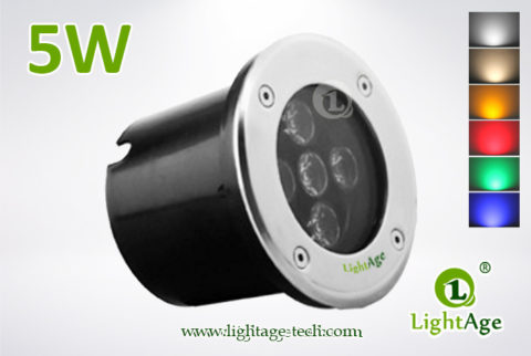 LightAge LED Inground Light LA-MD01-5W