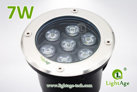 LightAge LED Inground Light LA-MD01-7W 01