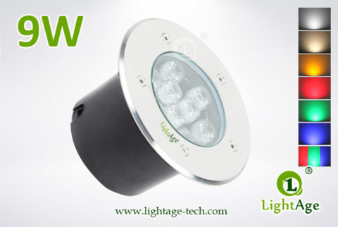 LightAge LED Inground Light LA-MD01-9W