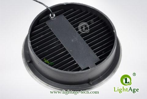 LightAge LED Inground Light LA-MD01 with heatsink L2