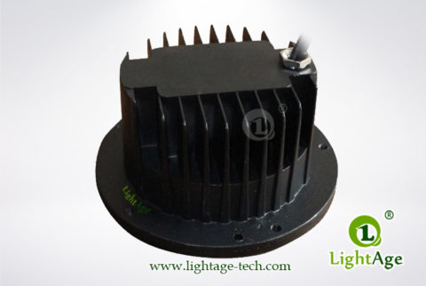 LightAge LED Inground Light LA-MD01 with heatsink s