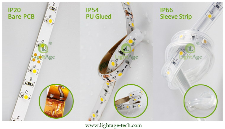 LightAge LED Strip 3528 CRI90 Waterproof