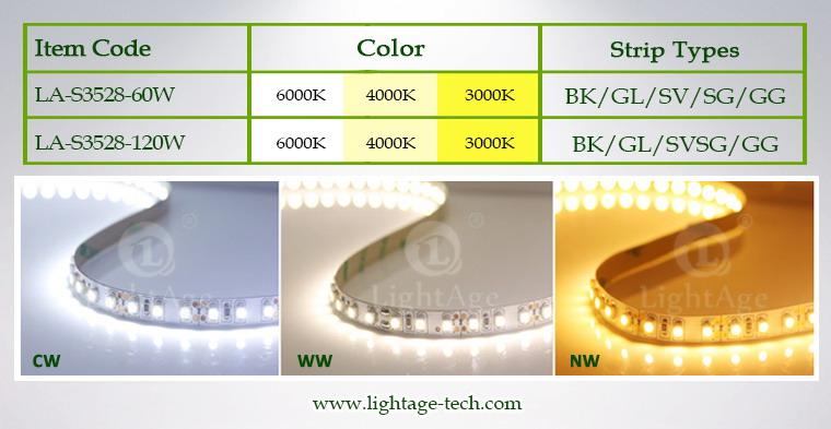 LightAge LED Strip 3528 SDCM-3 Items
