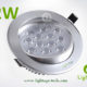 LA-CL82-12W LED Down Light Silver Blade 02