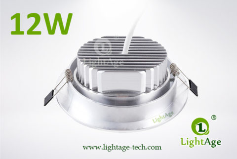 LA-CL82-12W LED Down Light Silver Blade 03