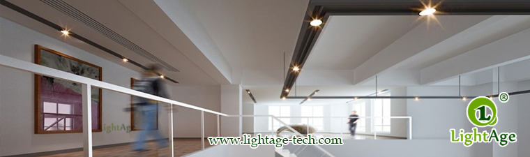 LA-CL82-12W LED Down Light Silver Blade Application