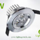 LA-CL82-3W LED Down Light Silver Blade 02