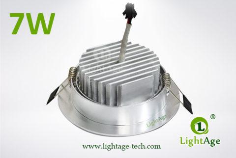 LA-CL82-7W LED Down Light Silver Blade 03