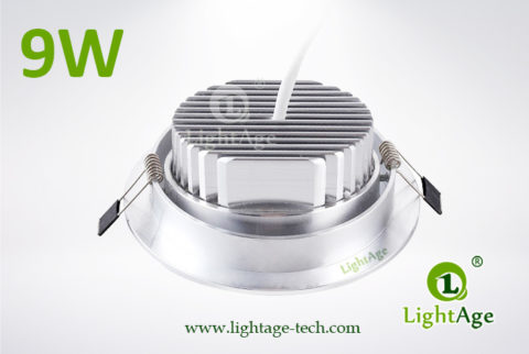 LA-CL82-9W LED Down Light Silver Blade 03