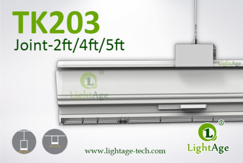 130lmW Warm White Cool White Jointable LED Linear Light LightAge 01