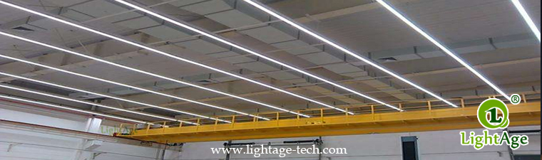 130lmW Warm White Cool White Jointable LED Linear Light LightAge Application