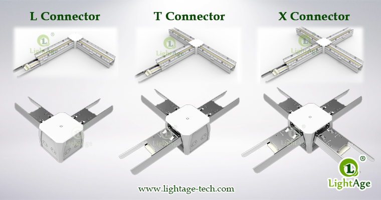 130lmW Warm White Cool White Jointable LED Linear Light LightAge Connectors
