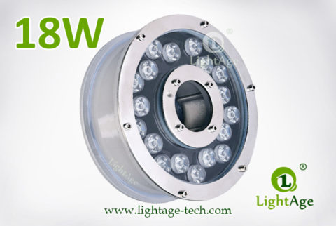 18W LED Fountain Light LightAge LA-PU12-18W 02