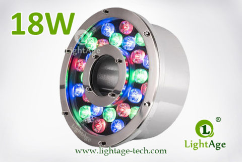 18W LED Fountain Light LightAge LA-PU12-18W 03