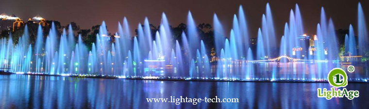 18W LED Fountain Light LightAge LA-PU12 Application
