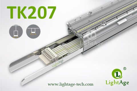 2ft 4ft 5ft 130lmW 0-10V Dimmable LED Linear Light LightAge 01