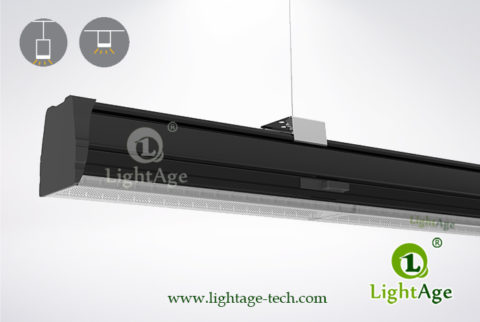 2ft 4ft 5ft LED Linear Light 24W 40W 60W 130lmW Ra80 LightAge 05