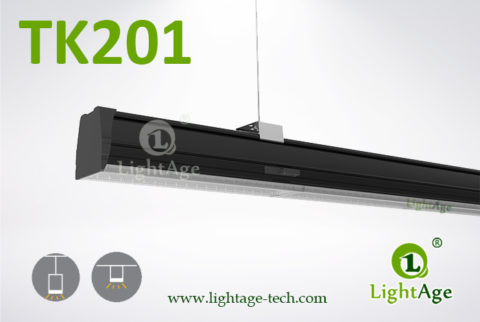 2ft 4ft 5ft LED Linear Light 24W 40W 60W 130lmW Ra80 LightAge 06