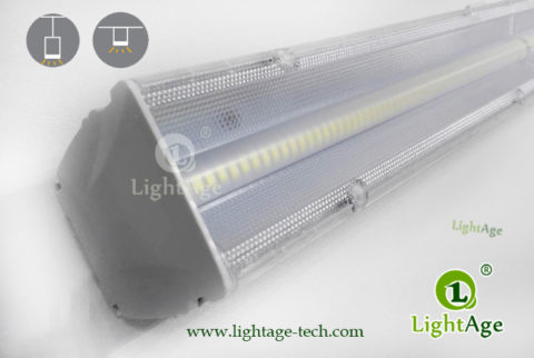 2ft 4ft 5ft LED Linear Light 24W 40W 60W 130lmW Ra80 LightAge 07